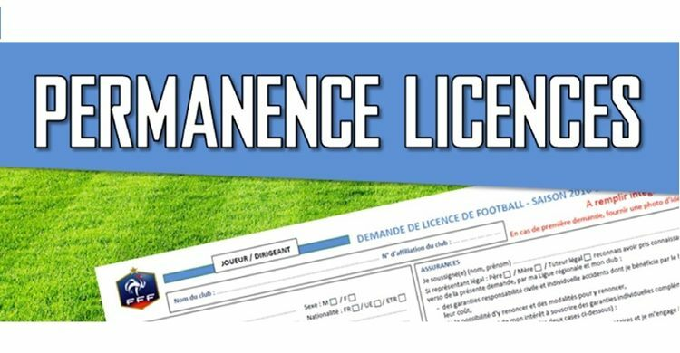 Permanences licences saison 2020/2021